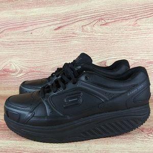 Skechers Work Slip Shape Up Nurse Sneaker Black 10